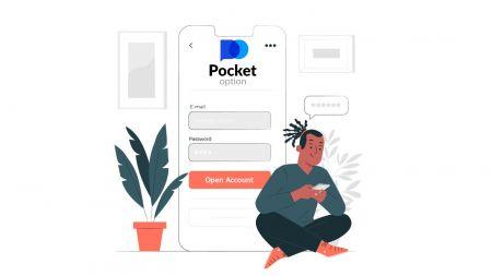 Cómo abrir una cuenta de demostración en Pocket Option
