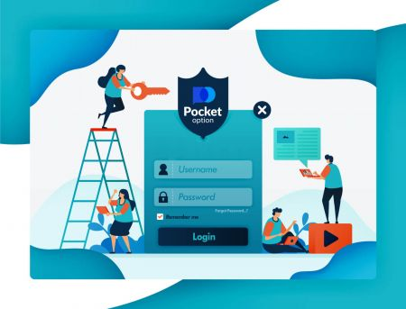 Cómo iniciar sesión y verificar la cuenta en Pocket Option