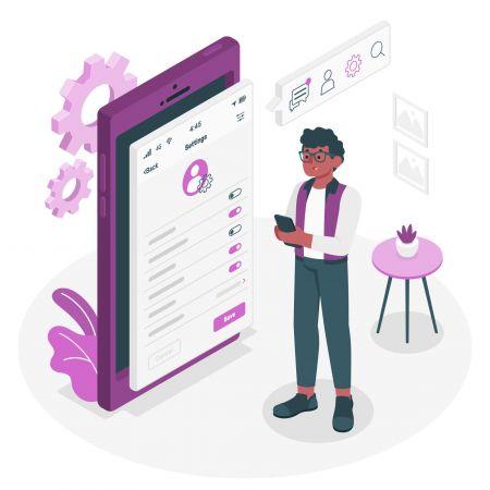 cómo usar la configuración de perfil en Pocket Option